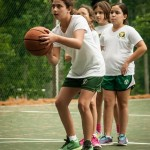 Knock Out Basketball at Camp