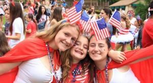 4th of July at Summer Camp