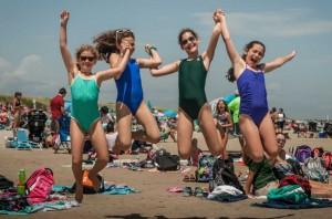 Camp Vega Beach Day