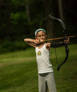 Katniss Everdeen at Summer Camp