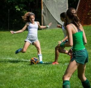 Oympic Soccer at Camp Vega