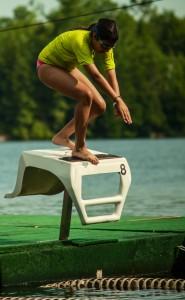 Vega swimmer Echo Lake Maine Girls Summer Camp