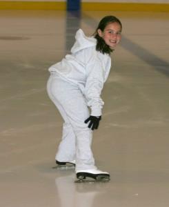 Girls Summer Camp Ice Skating