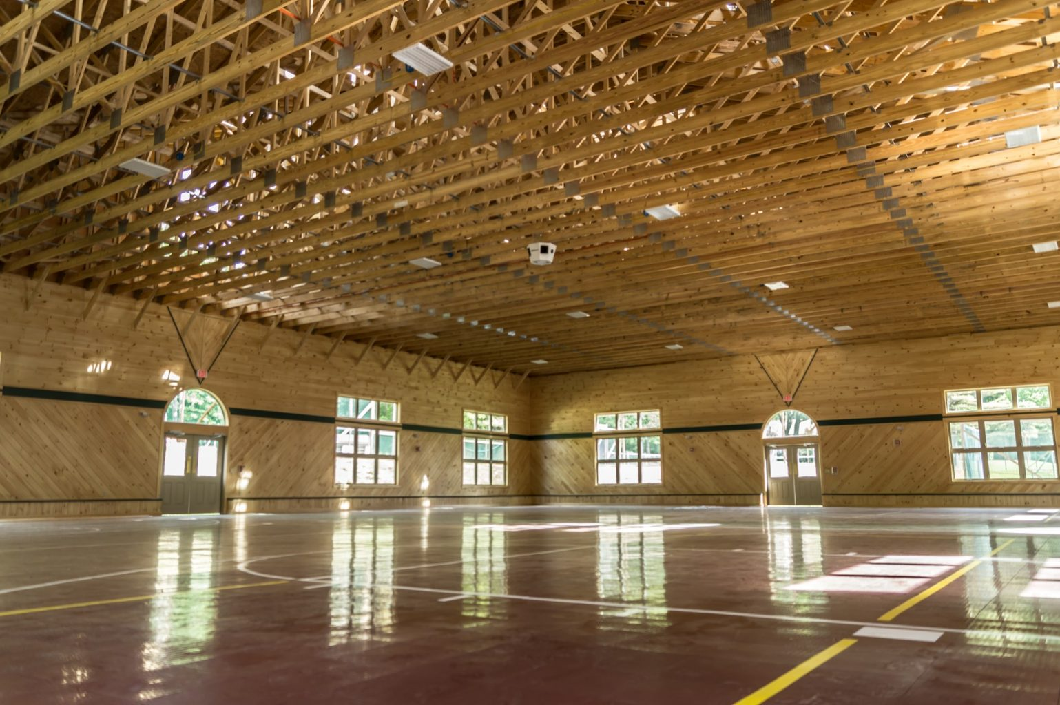 Camp Vega Fieldhouse Interior