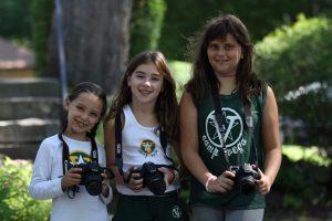 Vega campers in Digital Media Activity